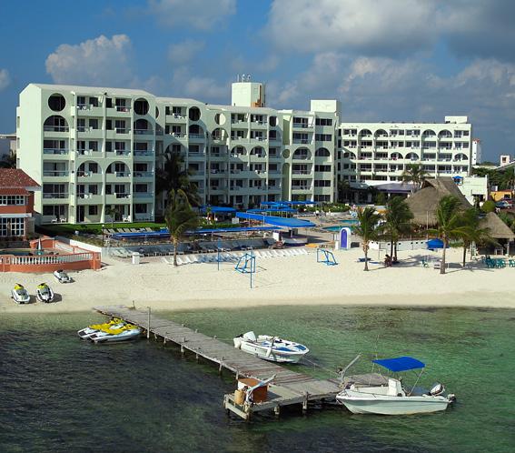 Hotel Aquamarina Beach Cancun Mexico